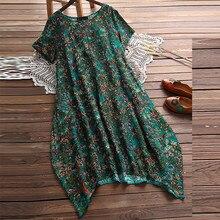 JAYCOSIN новое летнее женское платье А-силуэта Desigual интенсивный цветочный принт Повседневный короткий рукав пляжная одежда мини Сарафан 903296