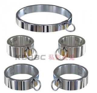 Sex tools for sale 3pcs/set stainless steel sexy collar legcuffs handcuffs bdsm bondage restraint set sextoys for men and women. цена