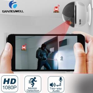 Image 3 - Graneywell wi fi IP カメラ 1080P Bluetooth スピーカーミニカメラスマートナイトビジョン Videcam ベビーモニタービデオ監視カメラ