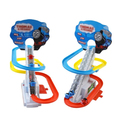 D1023 Free shipping new electric rail Thomas glide rail electric stair climbing  toys for children holiday gift
