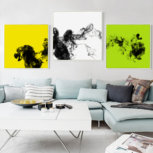 Bianche Wall 3pcs Set Undercurrent Abstract  Pattern Canvas Painting Art Print Posters Picture for the Modern Decor