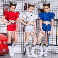 New children's performance costumes hiphop dancers jazz costumes girl 110 160cm height