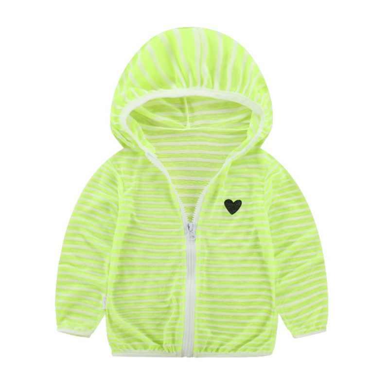 Chaqueta de manga larga para niñas niños ropa abrigo a rayas bebé abrigos otoño niños chaqueta Hoodies