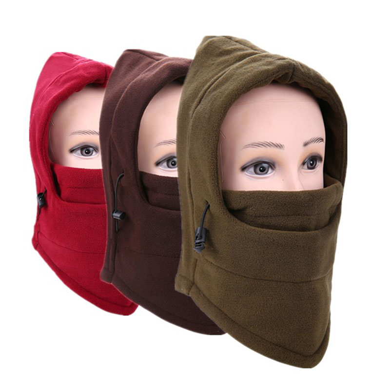 Mens Winter Hats Balaclava Neck Warmer Unisex Motorcycle Beanies Cap Face Mask Beanie For Women Hat Warm Bonnet Female Hot Sale face skullies beanies mask motorcycle fleece winter warm beanies hats colorful neck warmer