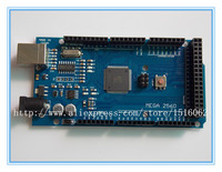 Mega 2560 R3 Mega2560 REV3 ATmega2560 16AU CH340G Board ON USB Cable Compatible For Arduino No