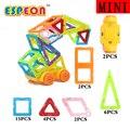 Mini 31 unids magnética modelo de construcción bloques de construcción de juguetes diy 3d diseñador magnética aprendizaje ladrillos niños juguetes educativos