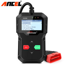 ODB2 Auto Scanner Full Engine Code Reader OBD2 Diagnostic Tool Multi-language Free Update Better ELM327 Free Shipping(Hong Kong,China)