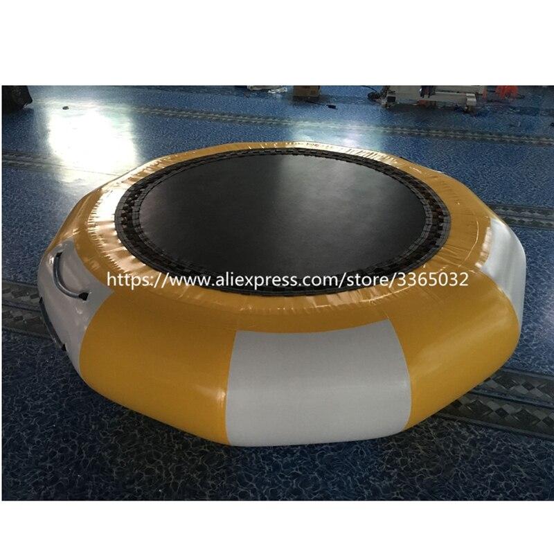 Trambulină de apă gonflabilă ieftine / jucării de apă pentru lac - Sport și în aer liber