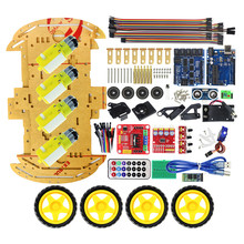 Multifunction Bluetooth Controlled Robot Smart Car Kits Tons of Published Free Codes UNO R3  Starter Kit for arduino Diy Kit