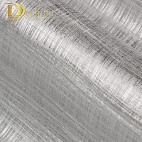 Modern European Textured Silver Gold Foil Wallpaper For Walls Decor Luxury Wall Paper Rolls For Living