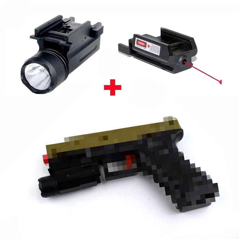 Spike 5mW adjustable mini mira red laser sights with
