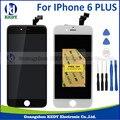 1 pcs aaa grau de qualidade para iphone 6 plus display lcd com tela de toque digitador assembléia + ferramentas
