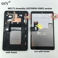 LCD Display Panel Screen Monitor Touch Screen Digitizer Glass Assembly For Asus MemoPad HD7 ME173 ME173X