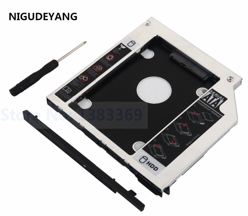 SATA 2nd HDD Hard Drive ejector Caddy for Dell Latitude E6400 E6500 E6410 E6510