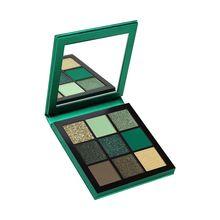 Women Cosmetic Matte Eyeshadow Makeup Palette Smoky Nude Shimmer Glitter Ultra