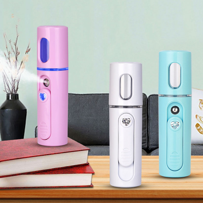 Portable Face Spray Bottle Nano Mister Facial Steamer Ultrasonic Face Sprayer Cold Beauty Hydrating Skin Care Tools