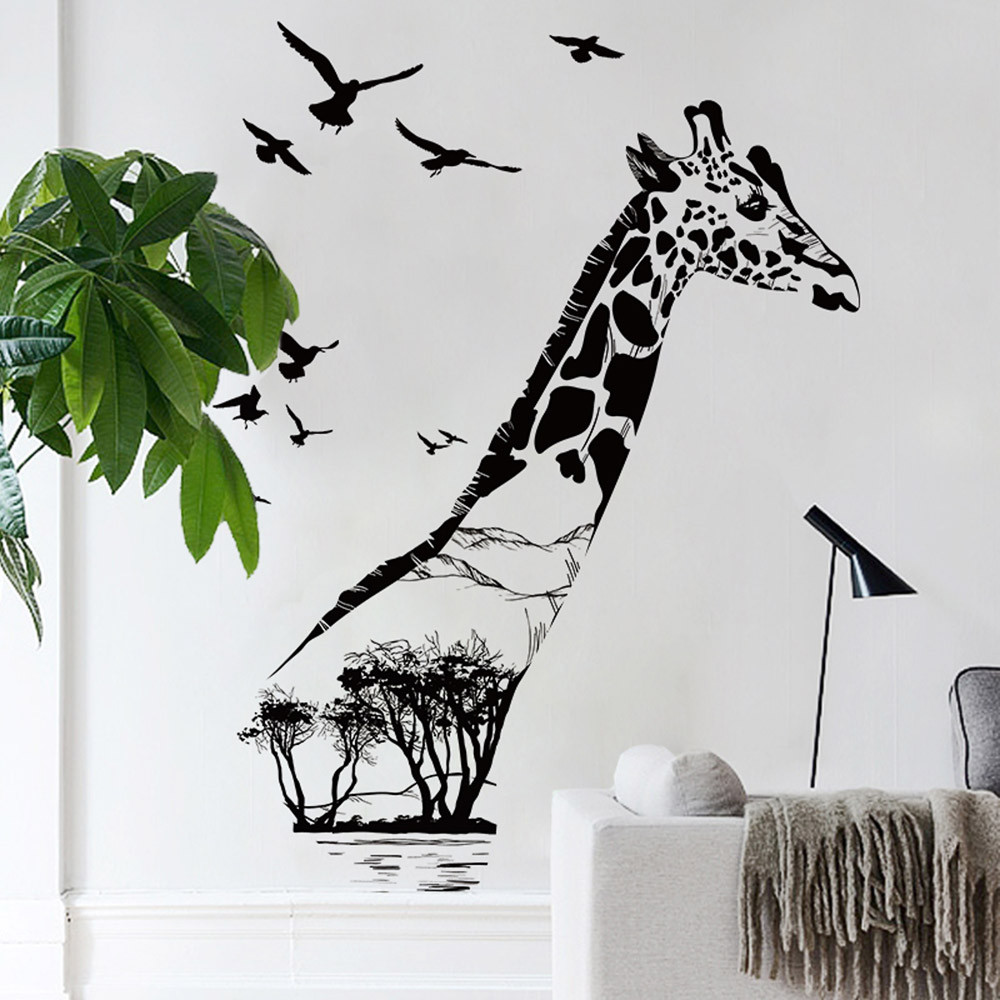 Pohon Silhouette Decal Beli Murah Pohon Silhouette Decal Lots From
