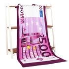 500 Euro Money Bath Towel Drying Washcloth Swimwear Shower 70*140