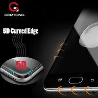 5D Volle Abdeckung Gehärtetem Glas Für Samsung Galaxy A51 A30 A5 A3 A7 2017 71 J5 J7 2017 A8 Plus j6 J4 2018 Curved Screen Protector