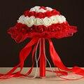 Свадебный Букет 2017 Multi Цвет Красный Розовый Фиолетовый Бежевый Цветы Ручной Работы 16080903 Свадебные Букеты