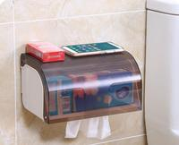 Creative Wall mounted Tissue Box Bathroom Strong Adhesive Napkin Dispenser Waterproof Toilet Paper Holder