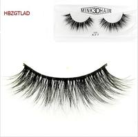 2017 100% Mink Hair 3D False Eyelashes Hand-made Sexy Big Eyes Curling Thick Natural Long With High Quality For Beauty Makeup