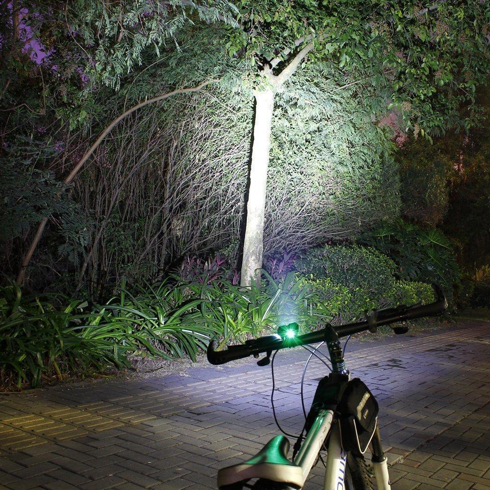 8000 Lumens Cykellys T6 LED Cykellys Front Cykellamp 4 Mode Torch + - Cykling - Foto 3