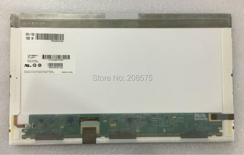 Livraison gratuite LP145WH1-TLA1 LP145WH1-TLB1 LTN145AT01 pour hp DV5 ordinateur portable LCD LED écran d'affichage matrice 100% test