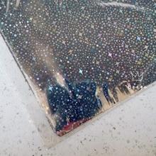 Пять звезд серебро 50 шт./лот 20x29 см горячего тиснения фольги бумага для жесткой коробке и пластиковый материал