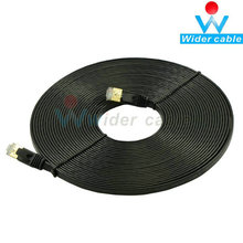 15M Network Cable Ethernet Cable Cat7 RJ45 Thin High Speed Flat Shielded Twisted Pair Internet Lan Cable