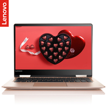 Lenovo Yoga 710 (14″) Ultra thin notebook I7 ultra first two in one tablet computer(i7-7500U 8G 256G SSD GT940-2G)Silver /gold