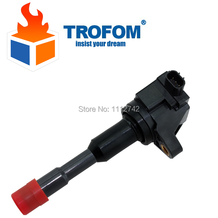Ignition Coil For Honda Civic 7 8 VII VIII JAZZ FIT 2 3 II III 1.2 1.3 1.4 30521-PWA-003 30521-PWA-S01 <font><b>30521PWA003</b></font> 30521PWAS01 image