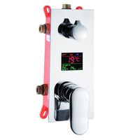 BECOLA New design embedded box shower control switch valve bathroom concealed shower faucet valve wall mounted B 9810