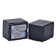 PowerTrust 2Pcs 1400mAh CGA-DU14 CGA DU14 Camera Battery for Panasonic DU06 DU07 NV-GS10 VDR-M70/M50 CGA-DU12 VW-VBD140