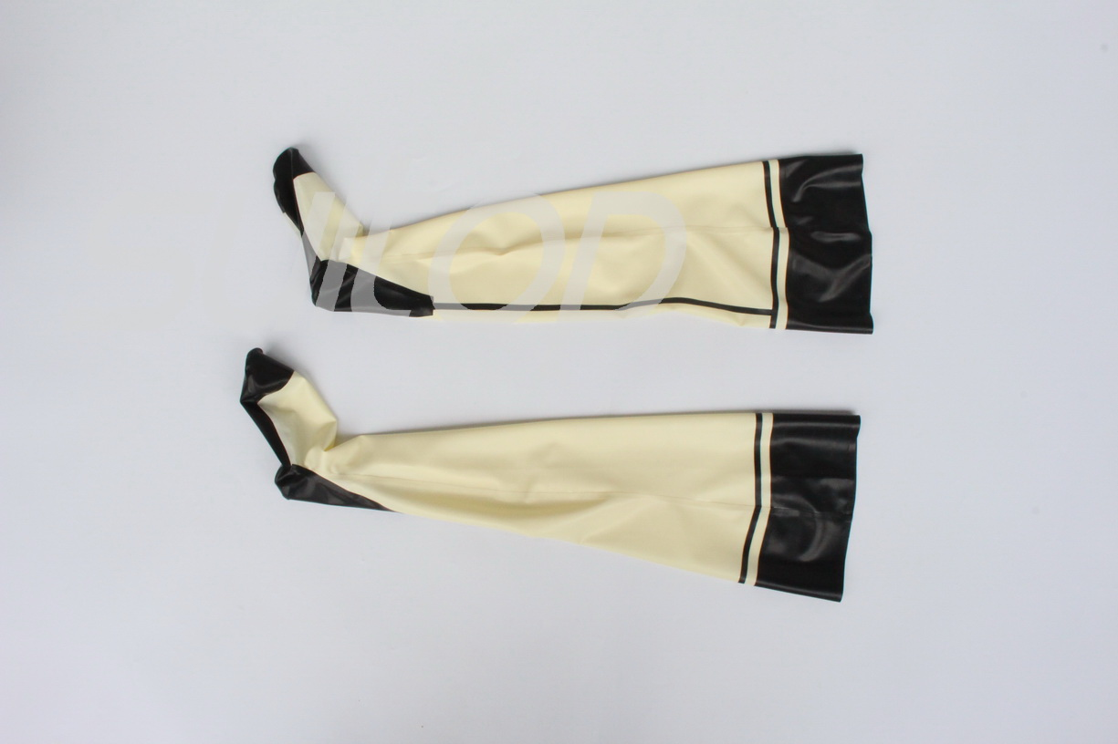 New item sexy rubber latex stockings