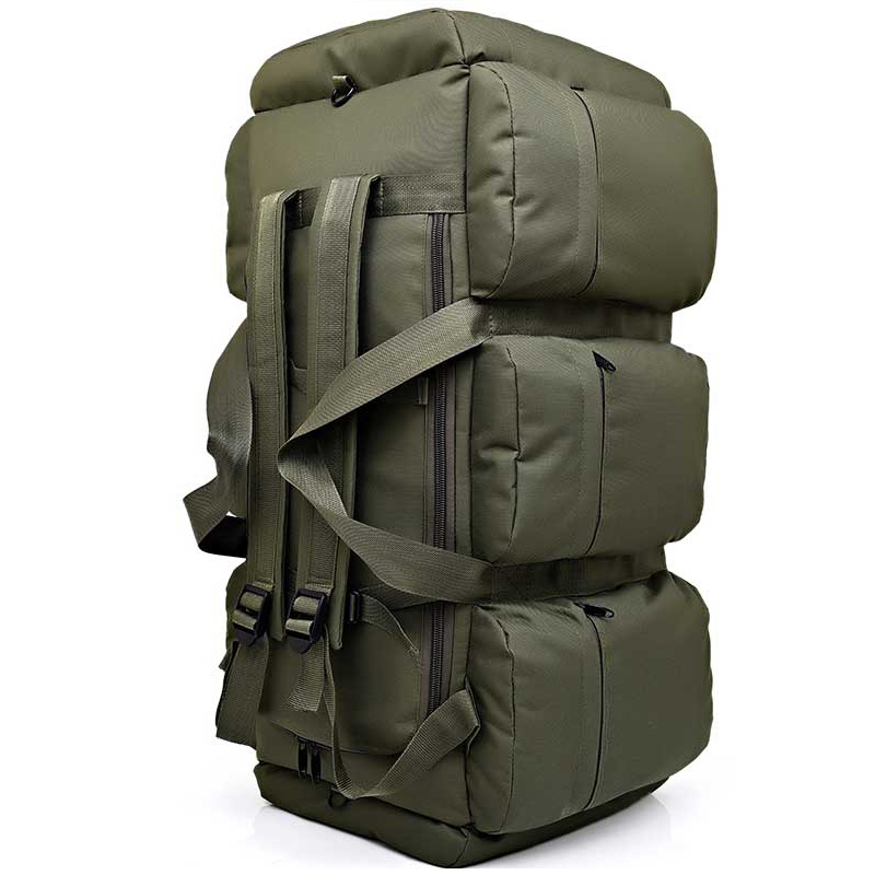 Mochila táctica militar de gran capacidad de 90 L para hombre impermeable Oxford senderismo Camping mochilas resistente al desgaste bolsa de viaje - 4