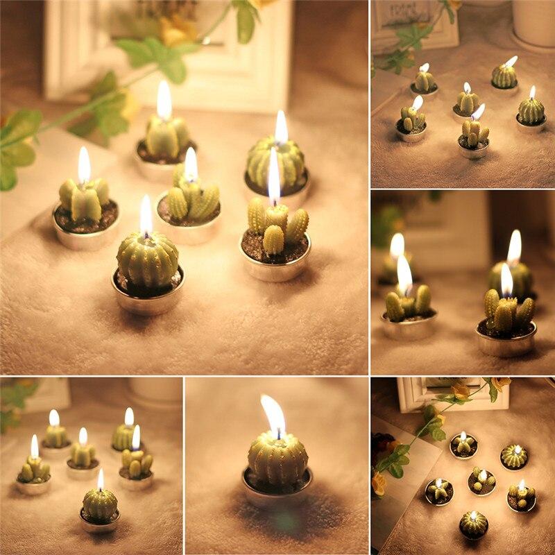 Cactus Candles 2
