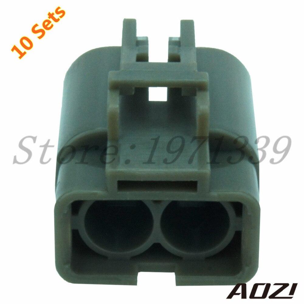Zehn Sätze Neue 2 Pins 6,3mm Serie H20 Generator Stecker/Auto Draht ...