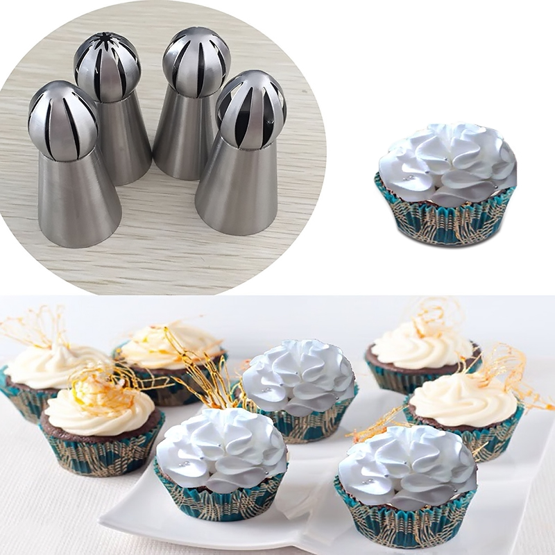 Stainless Steel 7 Style DIY Cake Decorating Tools Russian Icing Piping Cream Pastry Nozzles Set Tip