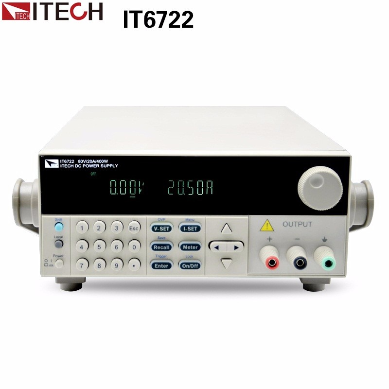 ITECH IT6722 high precision Adjustable Digital DC Power Supply 60V/16A for scientific research service Laboratory itech lk 208l brown коричневый