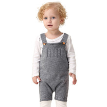 Toddler Newborn Strap Buttons Romper