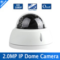 Onvif 1920*1080 2MP Câmera 24 Pcs Leds IR câmera de Segurança IP HD 1080 P 2MP Rede IR-CUT P2P Plug And Play 2.8-12mm Manual lente