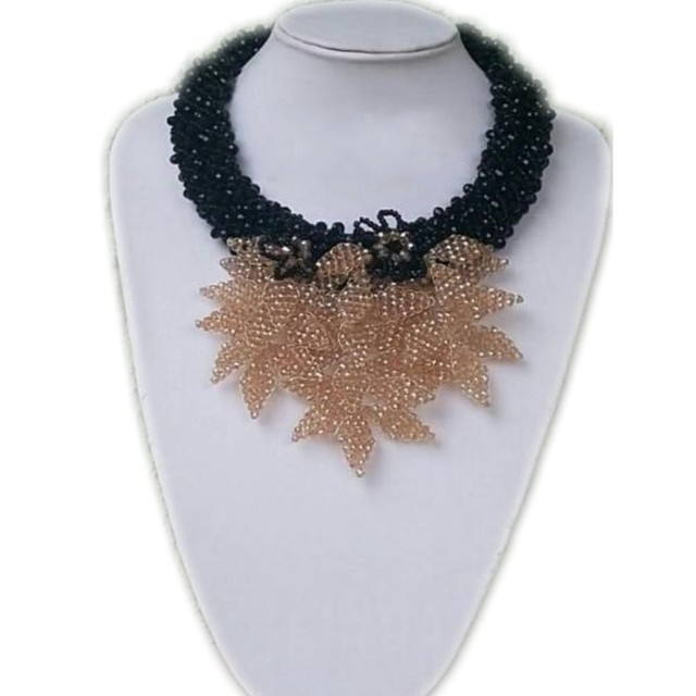 4UJewelry 2018 Latest Nigeria Jewelry For Women African Bridal Beads Gold Leaves Women Wedding Dubai Sets Free Shipping Fashion