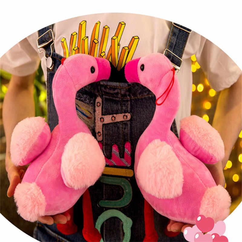 30 centímetros Cute Pink Flamingo Pássaro Bonecas Brinquedos de Pelúcia Recheado Animal Dos Animais Selvagens Do Bebê Travesseiro de Aniversário Presentes de Dia Dos Namorados Para meninas