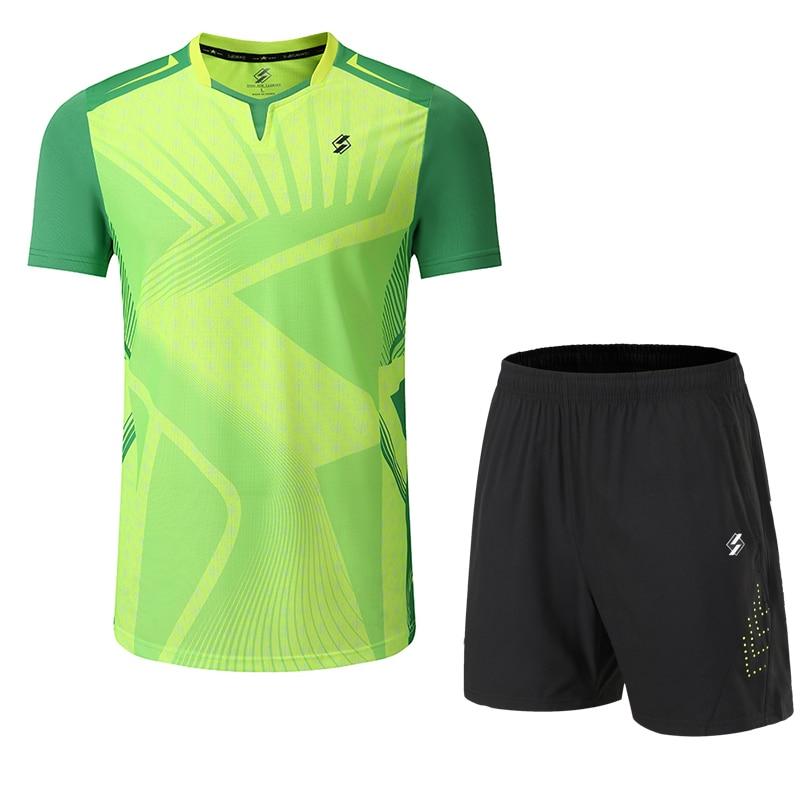 2019 New Quick Dry Badminton Sets Men/Women , Badminton Clothes , Sports Tennis Clothes , Table Tennis Sets , Sports Sets 3899