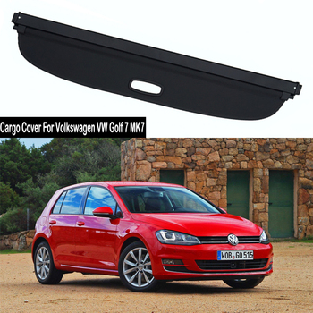 Rear Cargo Cover For Volkswagen VW Golf 7 MK7 2014-2019 privacy Trunk Screen Security Shield shade Accessories