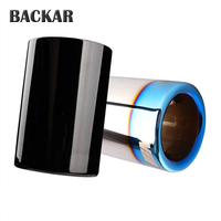 1PCS Motorsport M New 3 Series Car Exhaust Muffler Pipe End Tip Cover For BMW F30 320i 320 316i 328i 2013 2014 Accessories