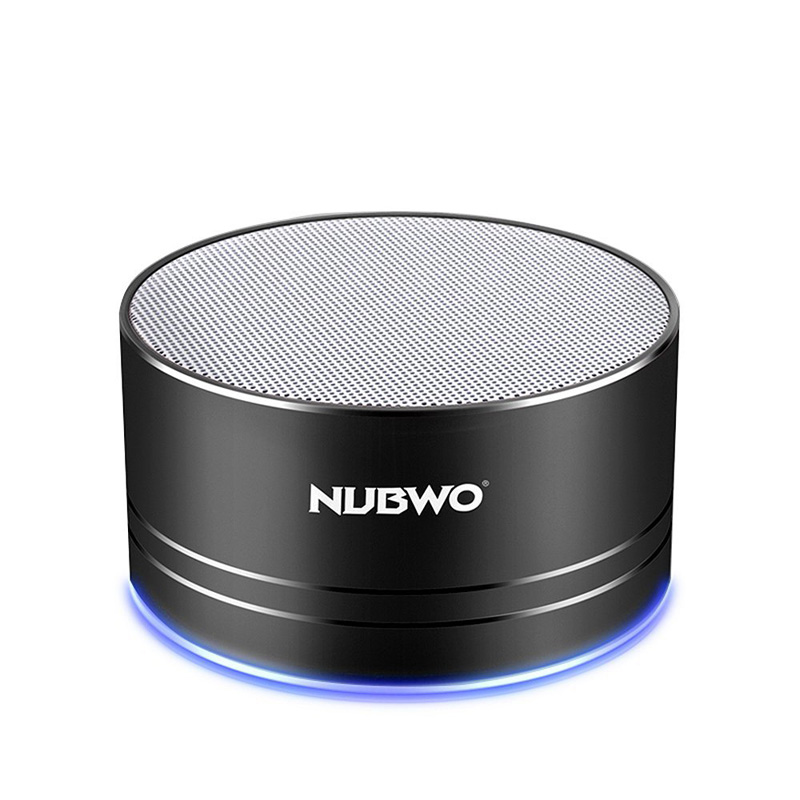 NUBWO Portable Bluetooth Speaker with Mic/Speakerphone,AUX Line,Memory Card Playback Smartphones for Apple/Android Phone