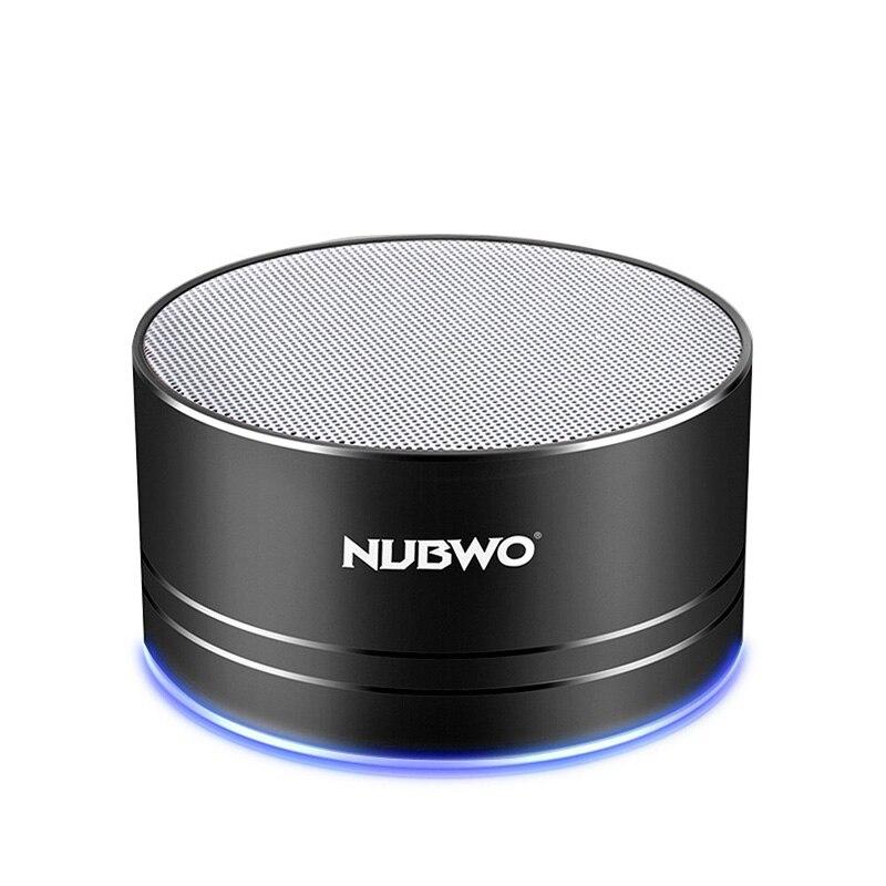 NUBWO Tragbare Bluetooth Lautsprecher mit Mic/Freisprecheinrichtung, AUX Linie, Speicherkarte Wiedergabe Smartphones für Apple/Android telefon