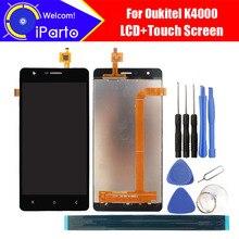 5.0 بوصة Oukitel K4000 شاشة الكريستال السائل + محول الأرقام بشاشة تعمل بلمس 100% اختبار جديد LCD شاشة زجاجية لوحة الجمعية ل K4000 (2 اللمس)